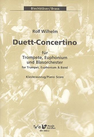 Duett-Concertino für Trompete, Euphonium und Blasorchester: Trompete, Euphonium