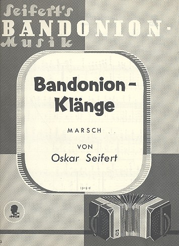 Bandoneon-Klänge: für Bandoneon