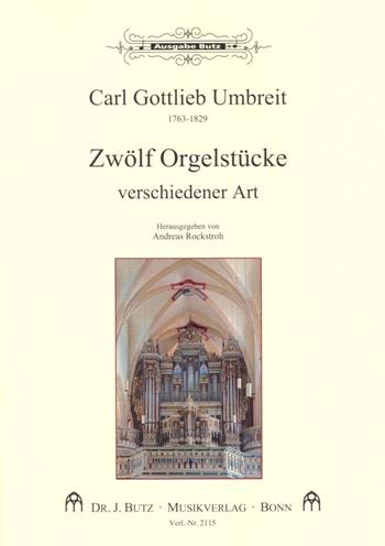 12 Orgelstücke verschiedener Art