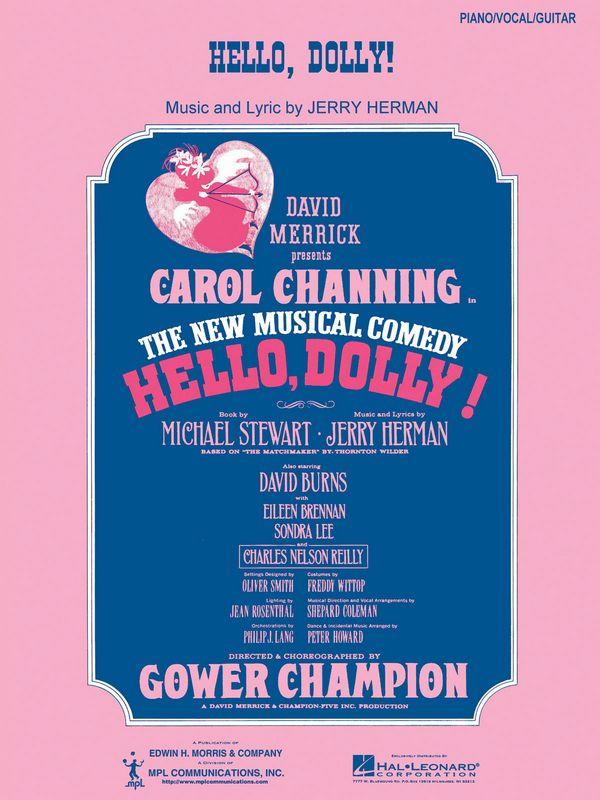 Hello Dolly: für Klavier/Gesang/Gitarre