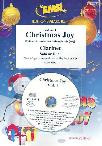Christmas Joy Band 1 (+CD): für 1-2 Klarinetten und Klavier (Orgel)