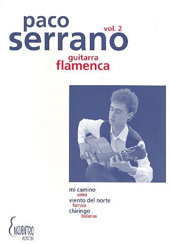 La guitarra flamenca vol.2: für Gitarre/Tabulatur (dt/en/frz/sp)