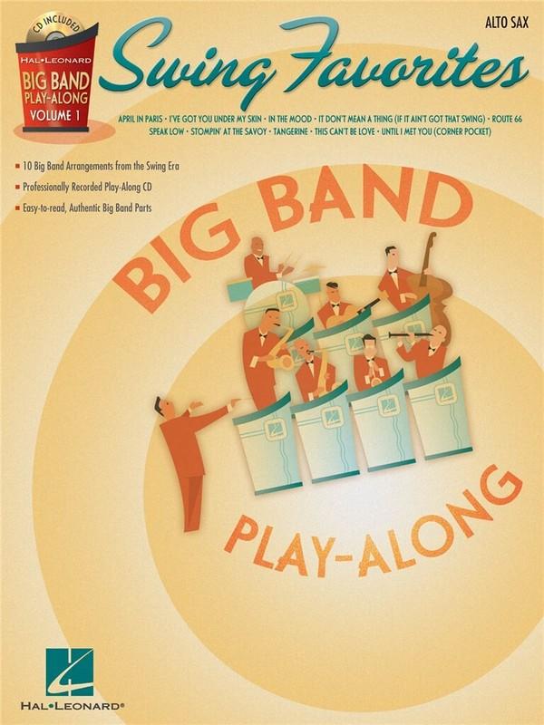 Big Band Playalong vol.1 (+CD): swing favorites for alto saxophone