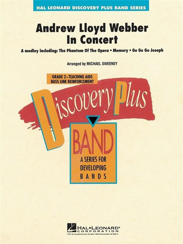 Andrew Lloyd Webber in Concert (Medley): for concert band