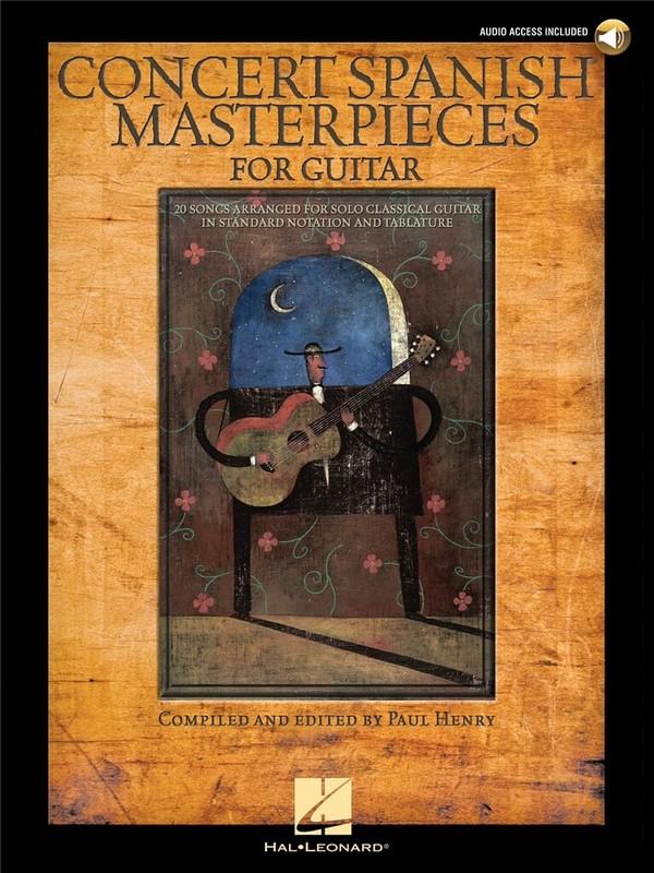 - Concert Spanish Masterpieces (+Audio Access) :