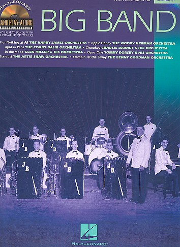 Big Band (+CD): songbook for piano/vocal/guitar