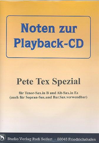 Pete Tex Spezial und Clarinet-Spezial (+CD): für alle Es- und B-Instumente