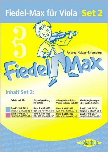 Fiedel-Max Viola: Set 2 (enthält die Bände 3 und 4)