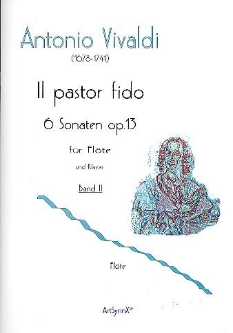 Vivaldi, Antonio - Il pastor fido op.13 Band 2 (Nr.4-6) :