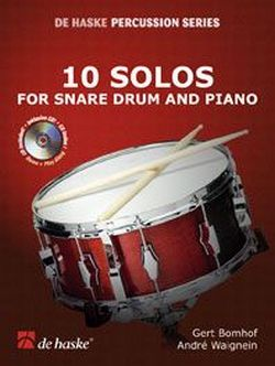 10 Solos (+CD): for snare drum and piano