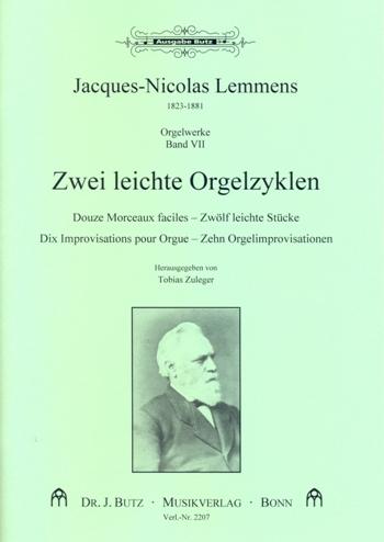 12 leichte Stücke und 10 Improvisationen: für Orgel