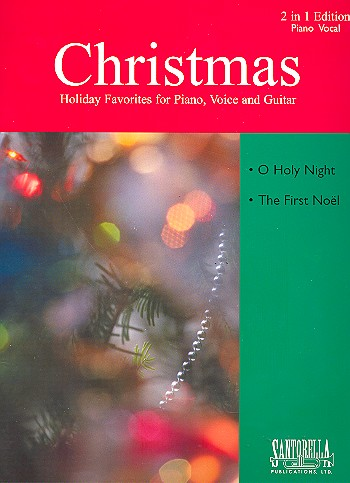 2 Christmas Favorites: for piano/vocal/guitar