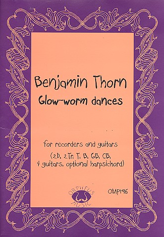 Glow-Worm Dances: for 8 recorders and 4 guitars (harpsichord ad lib)