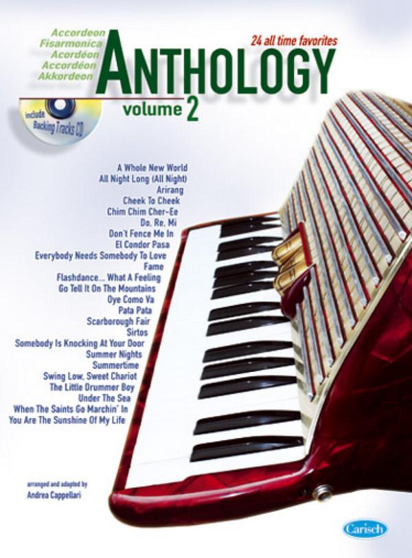 Anthology vol.2 (+CD): für Akkordeon