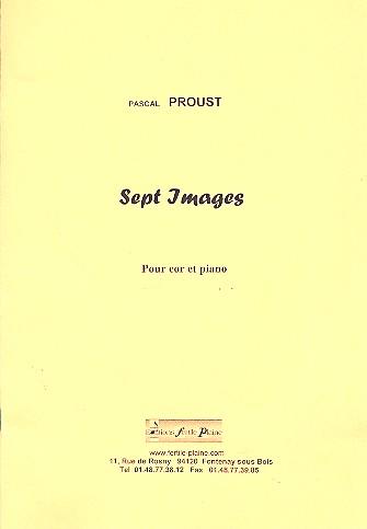 7 Images: pour cor et piano
