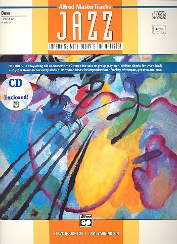 Alfred Mastertracks Jazz (+CD): for bass