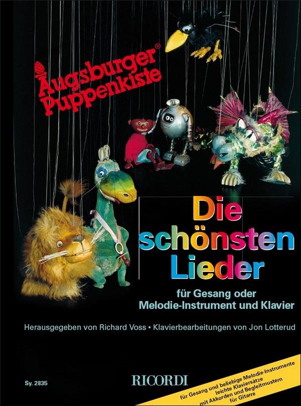 Augsburger Puppenkiste - die schönsten Lieder: für Gesang (Melodie-Instrument)