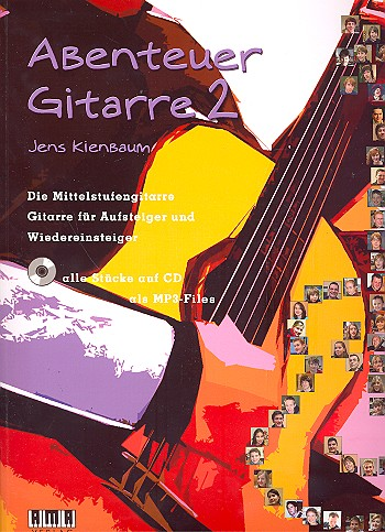 Abenteuer Gitarre Band 2 (+CD +MP3-Files)