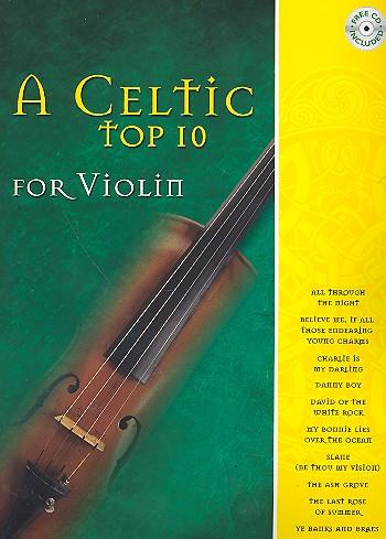 A Celtic Top Ten (+CD): for violin