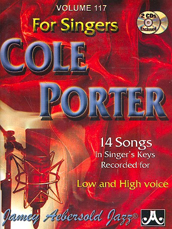Porter, Cole Albert - Cole Porter for Singers (low and high voice)