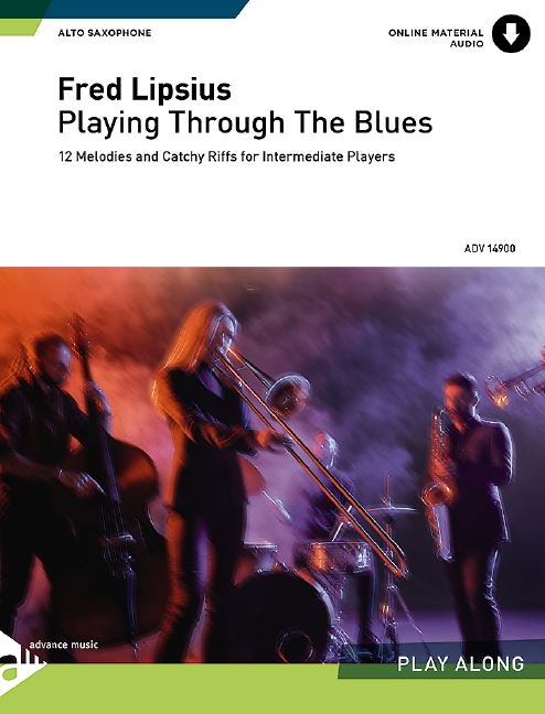 Lipsius, Fred - Playing through the Blues (+CD) :