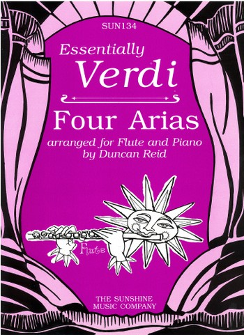 4 Arias: for flute and piano