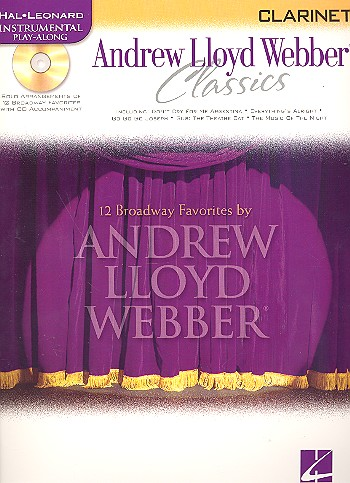 Andrew Lloyd Webber Classics (+CD): for clarinet