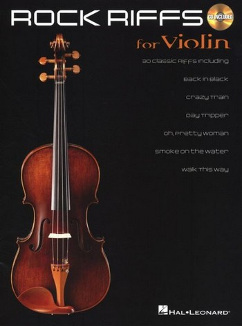 Rock Riffs (+CD): for violin