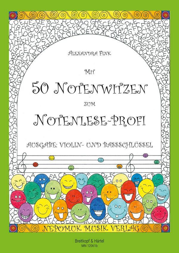 Fink, Alexandra - Mit 50 Notenwitzen zum Notenlese-Profi :