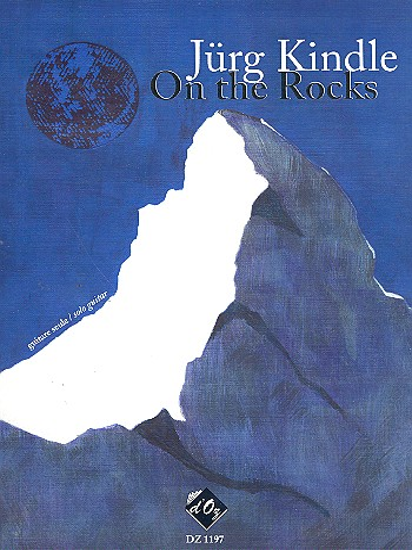 Kindle, Jürg - On the Rocks : for guitar
