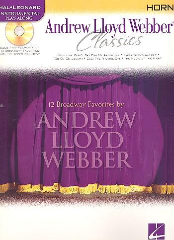 Andrew Lloyd Webber Classics (+CD): for horn