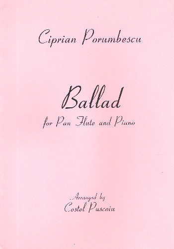 Ballad: for pan flute and piano