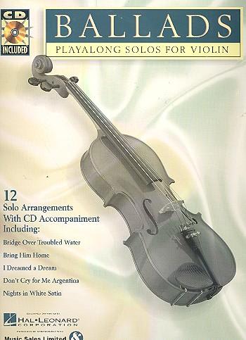 Ballads (+CD): for violin