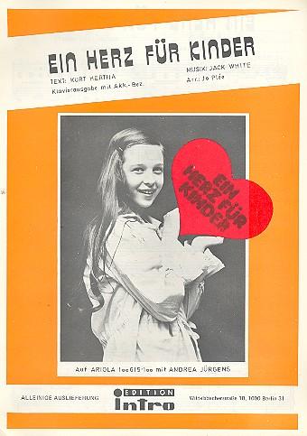 Ein Herz für Kinder: Einzelausgabe Gesang und Klavier
