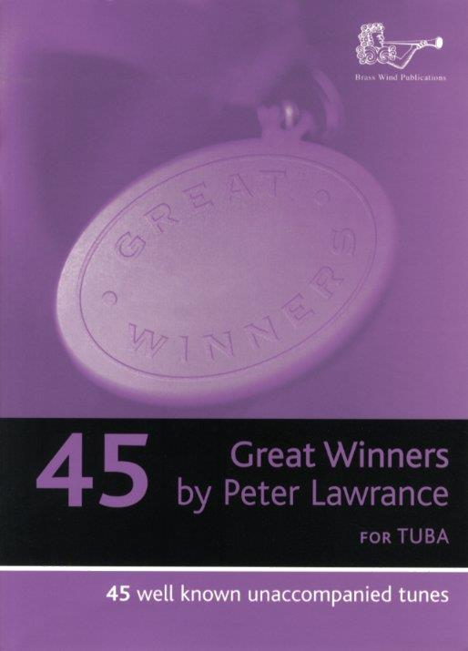 45 great Winners: for tuba (bass clef)
