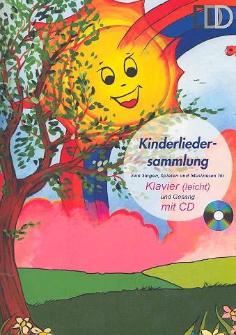 Kinderliedersammlung (+CD): für Klavier (mit Texten und Akkorden)