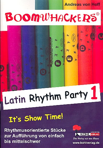Boomwhackers: Latin Rhythm Party vol.1