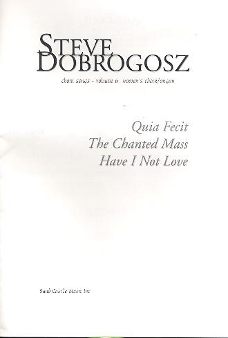 Choir Songs vol.6: for female chorus and organ
