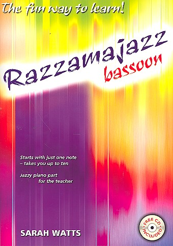 Watts, Sarah - Razzamajazz (+CD) : for bassoon