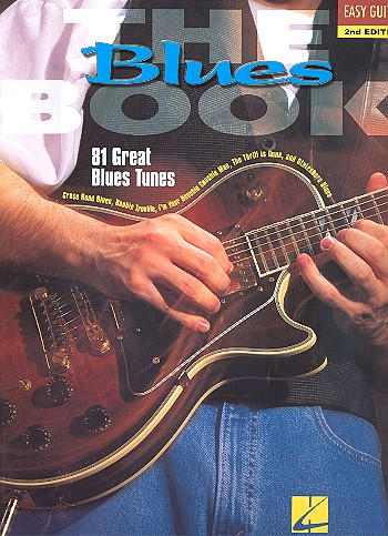 The Blues Book: for easy guitar songbook melody line/lyrics/chords