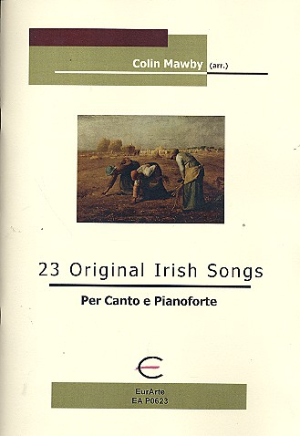 23 original Irish Songs: for voice and piano