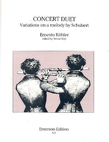 Köhler, Ernesto - Concert Duet : Variations