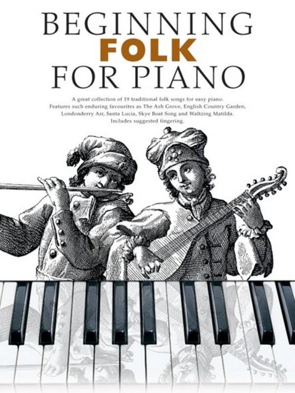 Beginning Folk: for piano