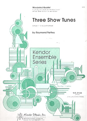 3 Show Tunes: for  2 flutes, clarinet and bass clarinet (or other wind instruments)