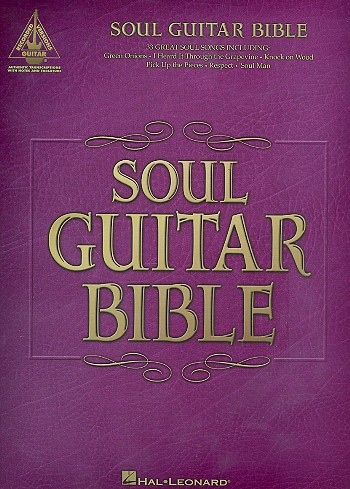 Soul Guitar Bible songbook vocal/guitar/tab