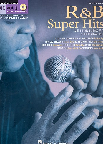 R & B Super Hits (+CD): for male singers songbook vocal/guitar