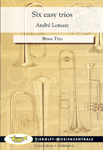 6 easy Trios: for 2 trumpets and horn score and parts