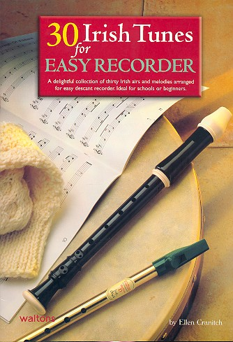 30 Irish Tunes: for descant recorder