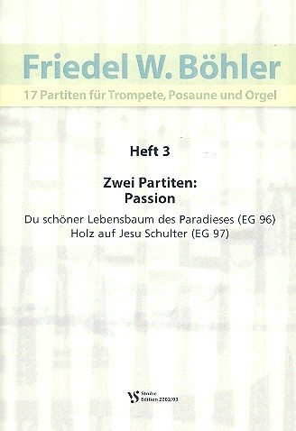 17 Partiten Band 3: für Trompete, Posaune und Orgel