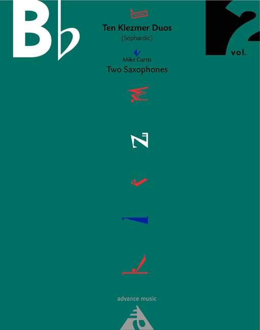 10 Klezmer Duos vol.2: for 2 saxophones